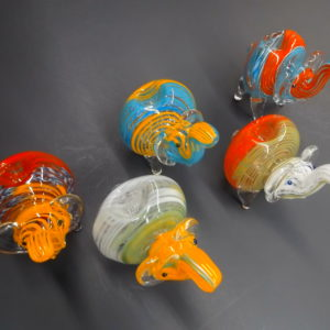 Multi-Color Elephant Bowl 2