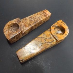 Stone Leaf Hand Pipe 1